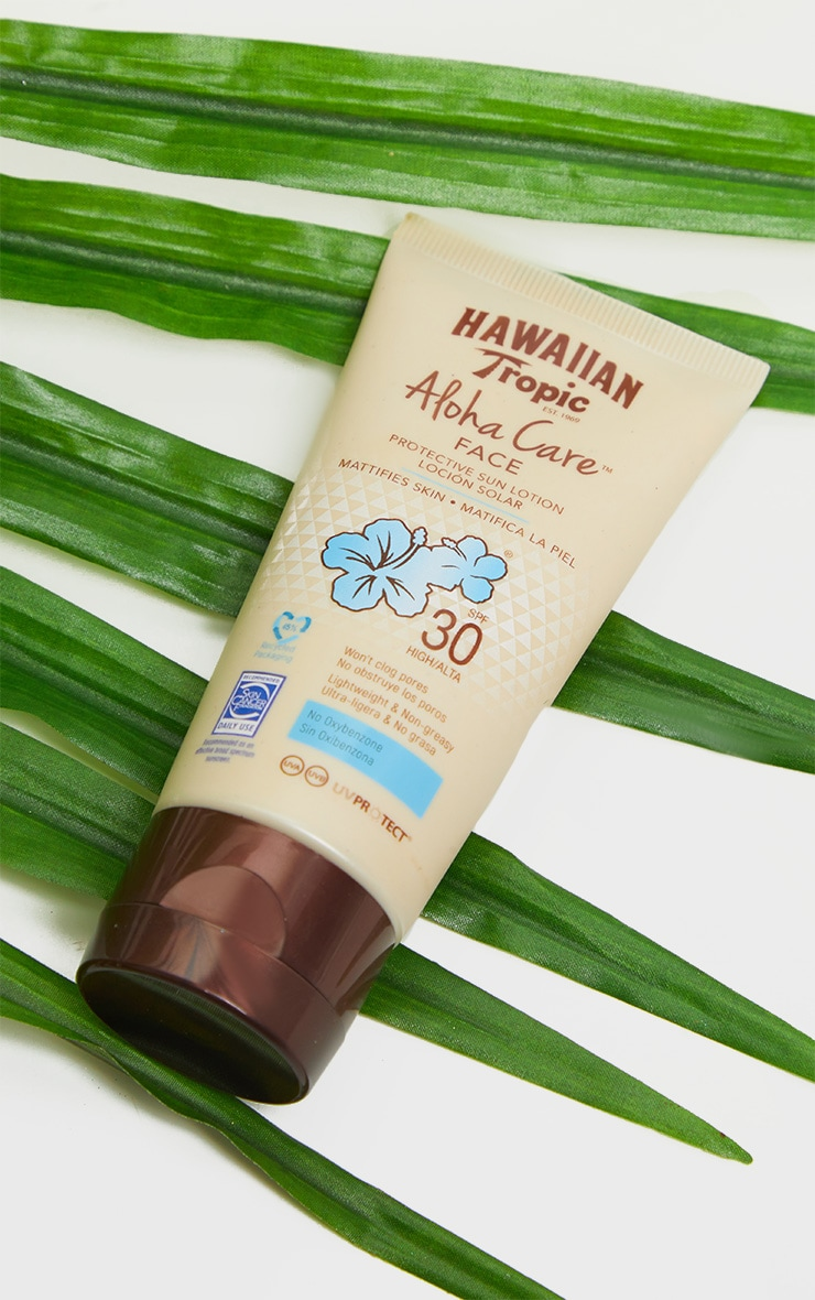Hawaiian Tropic Aloha Care Protective Face Lotion SPF30 90ml 2