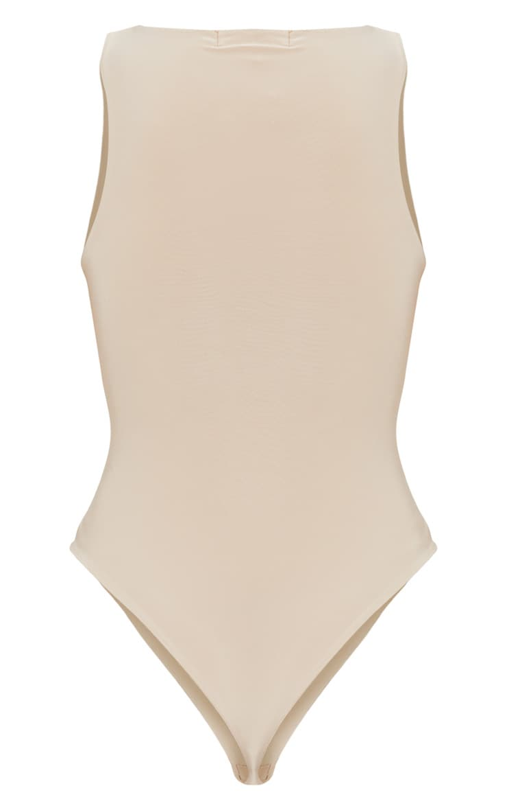 Stone Second Skin Scoop Neck Thong Bodysuit 4