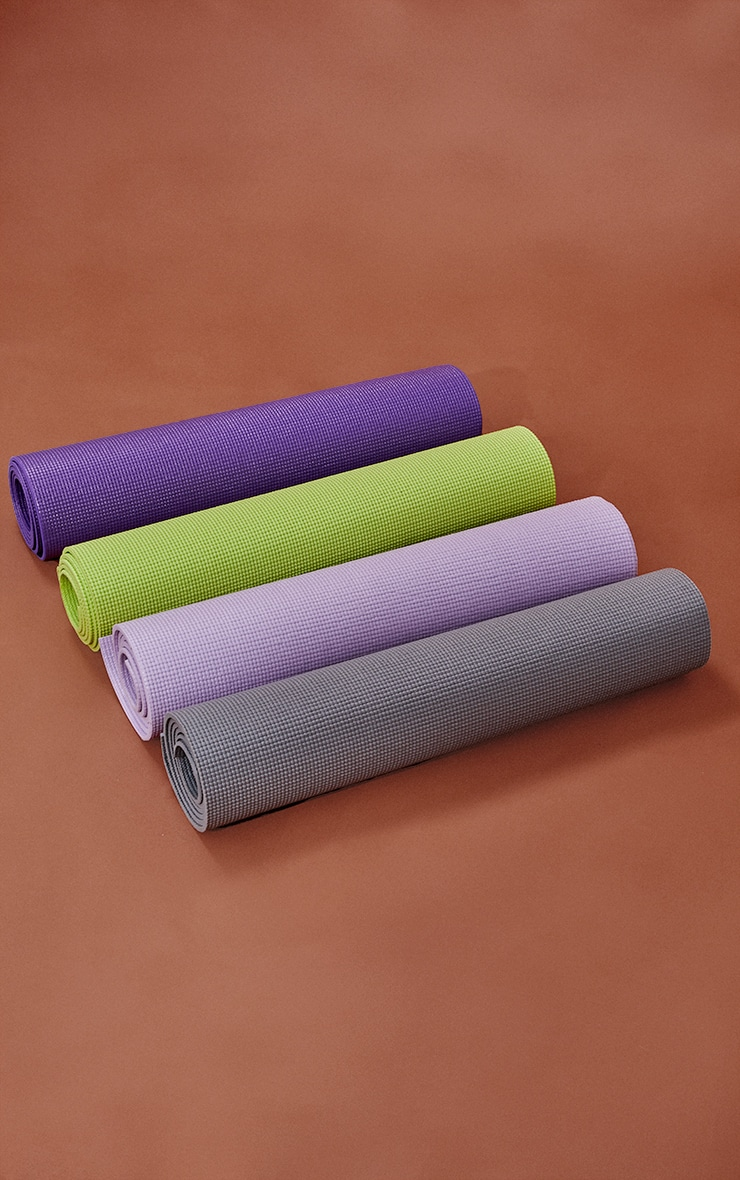 Purple Yoga Mat With Bag 5