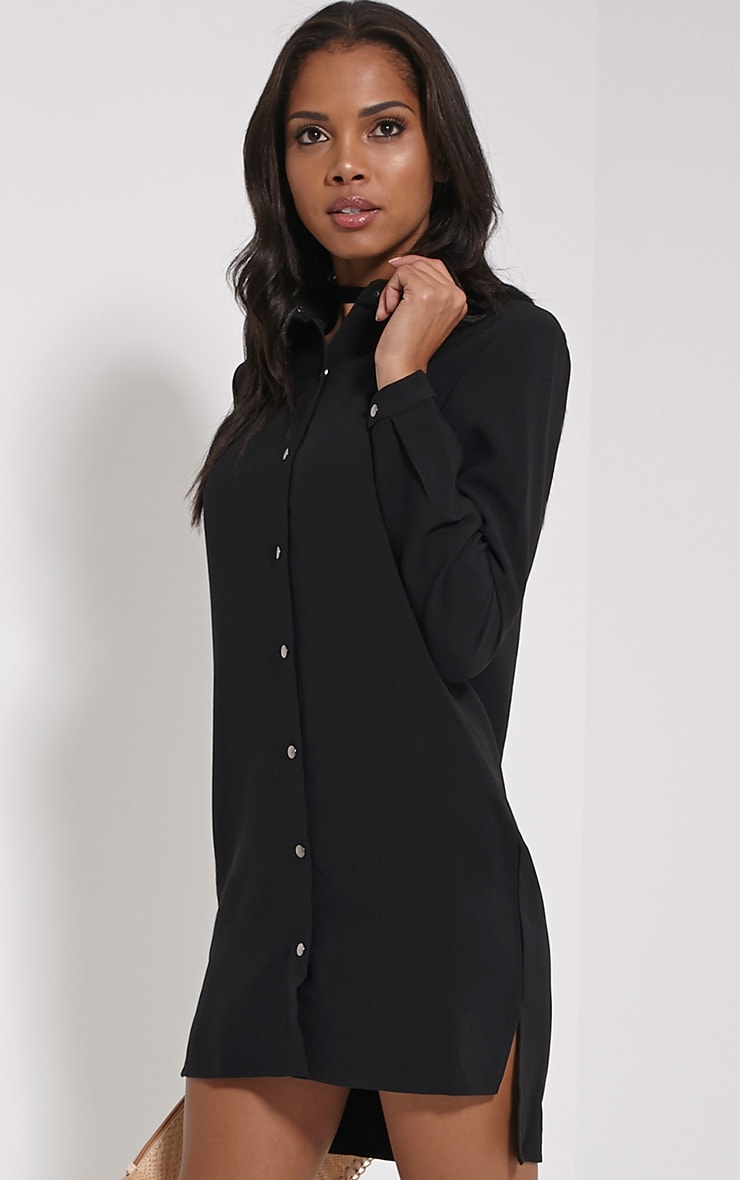 Raden Black Premium Shirt Dress 4
