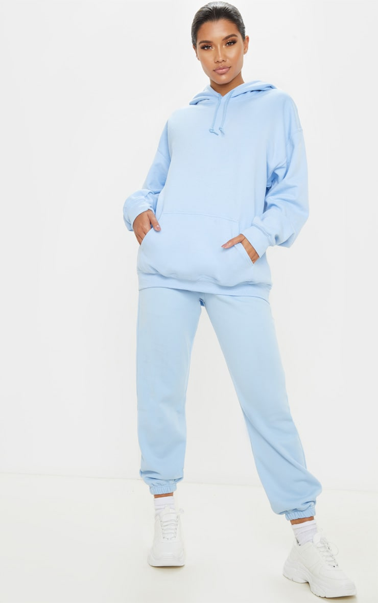 Light Blue Ultimate Oversized Hoodie  4