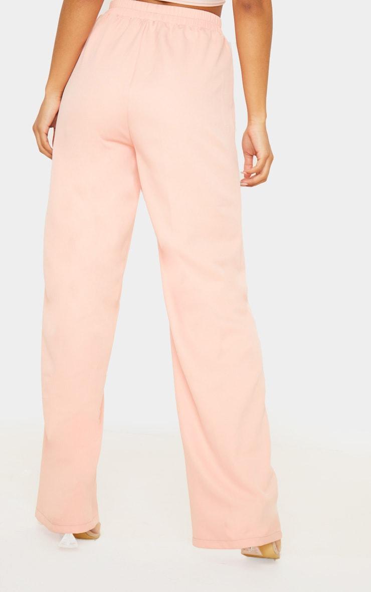 Pink Waistband Straight Leg Trouser 4