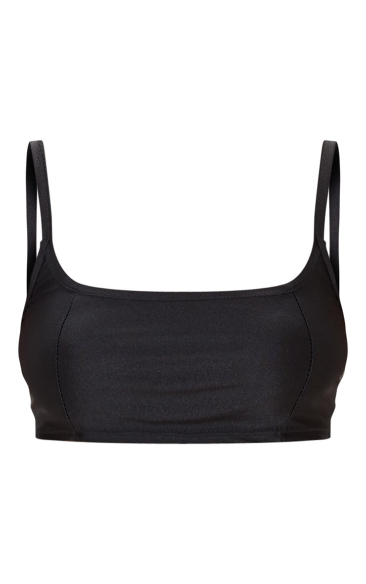 Black Disco Strappy Cami Top 3