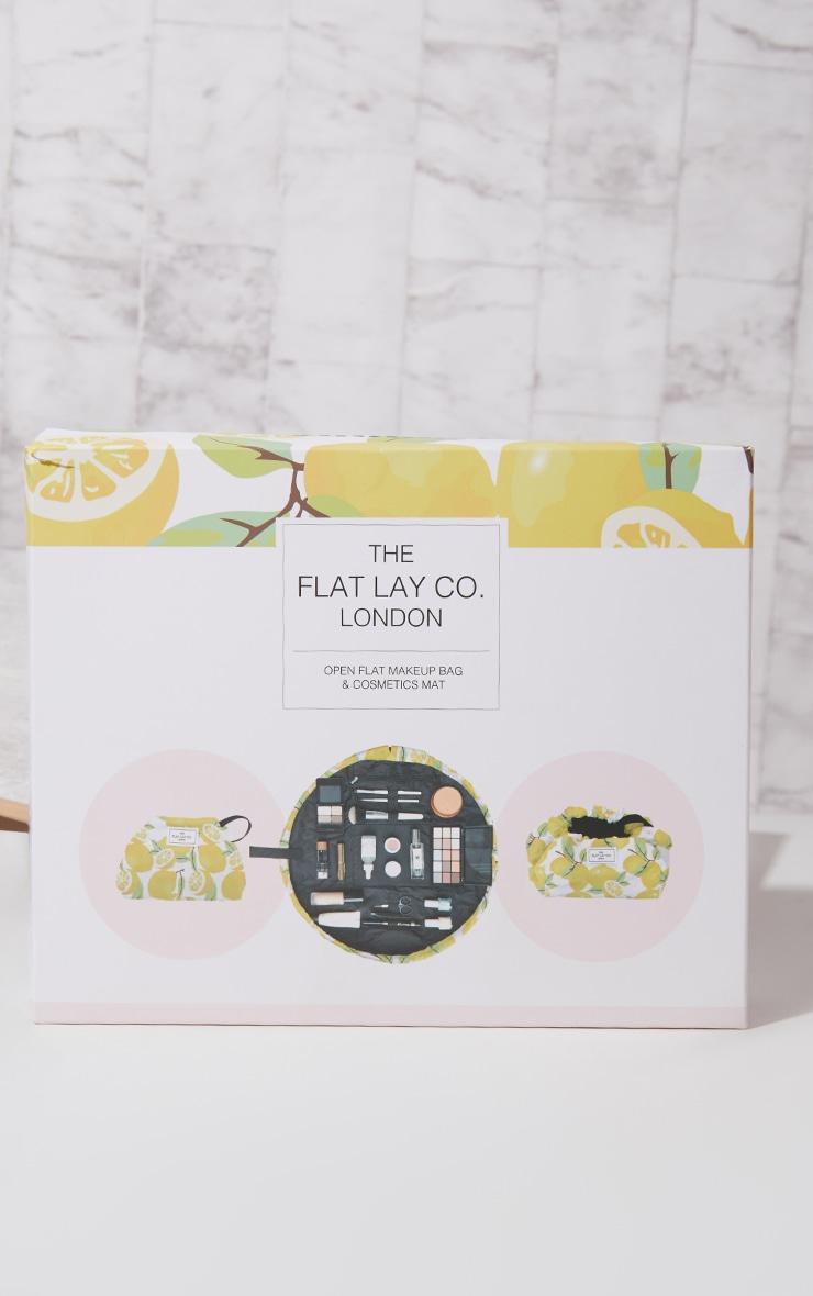 The Flat Lay Co Lemons Print Makeup Bag 3