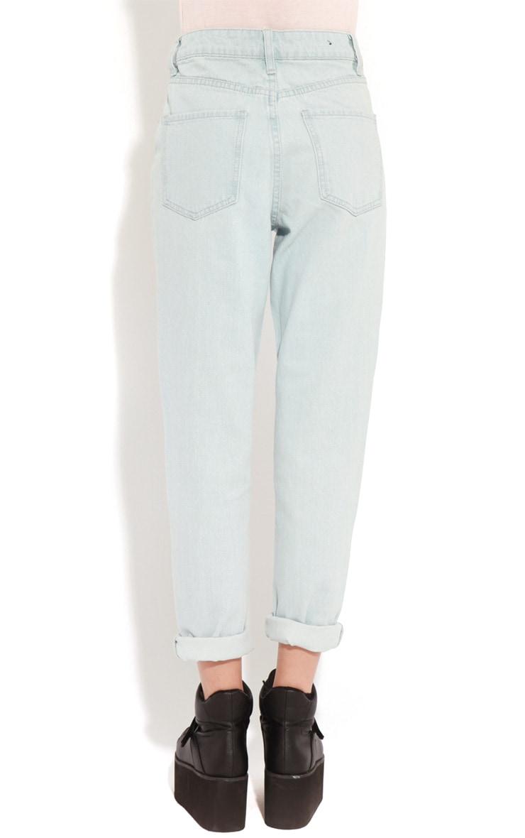 Rhianne Blue  Ripped Boyfriend Jeans  2