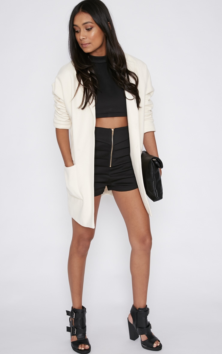 Hope Cream Boyfriend Coat  6