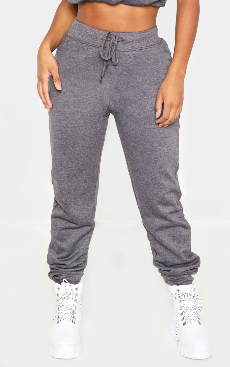 Shape Charcoal Sweat Drawstring Joggers 2