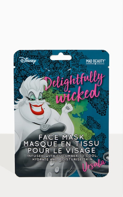 Disney Villains Sheet Face Mask Ursula