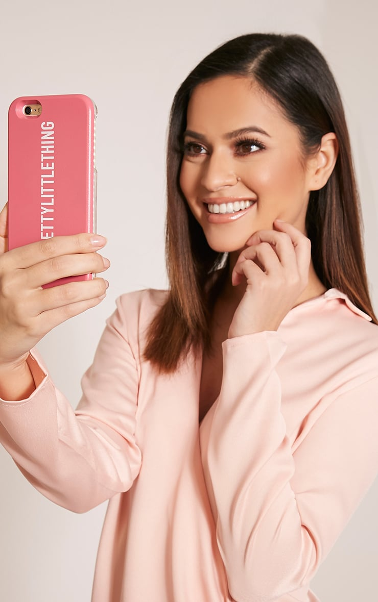 Pink PrettyLittleThing Iphone 6+ Selfie Case 2