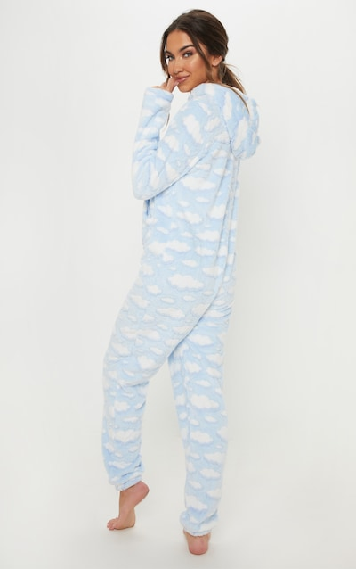 Light Blue Cloud Onesie