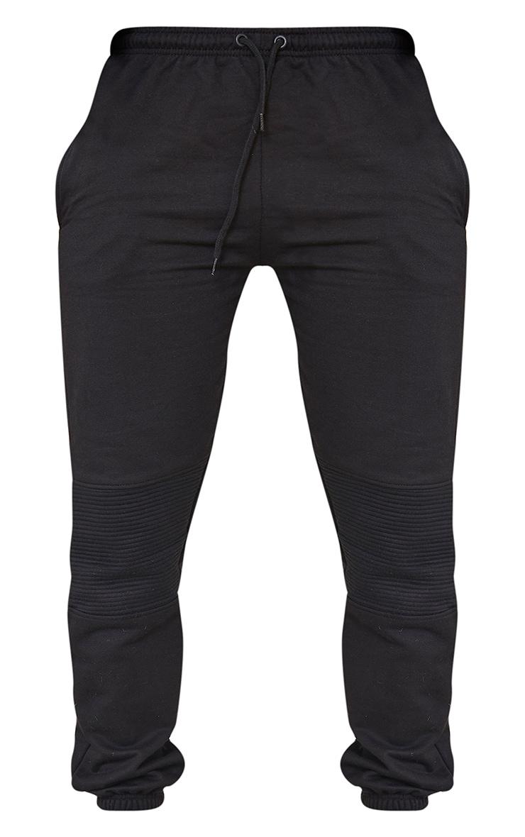 Shape - Jogging noir à parties contrastées 5