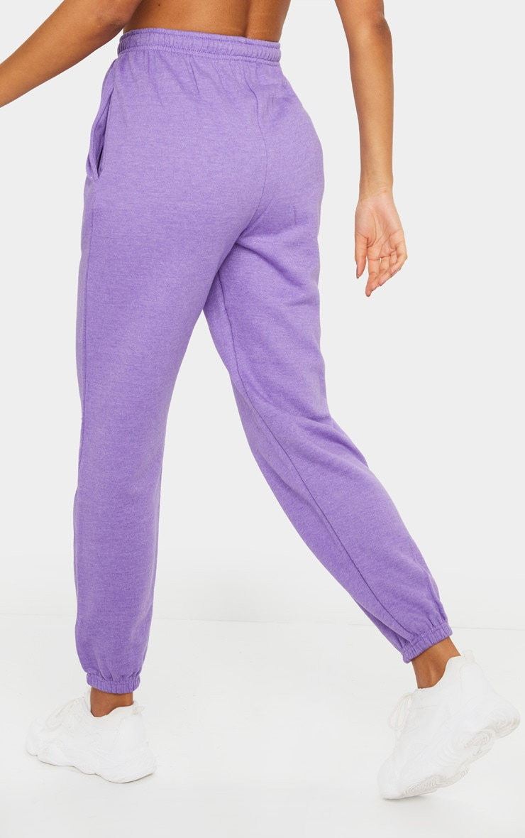 Purple Marl Casual Jogger 3