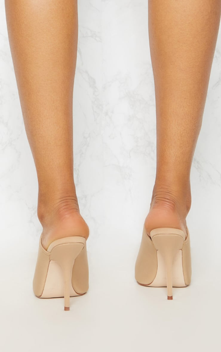 Taupe Extreme Point Mule  4