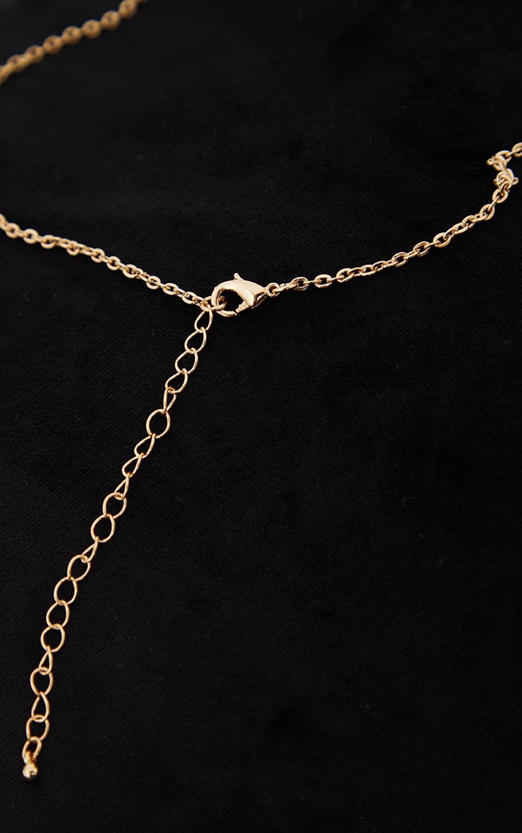 Gold Ying Yang 2 Pack Friendship Necklaces 4