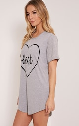 Best Bitches Grey Two Pack Oversized Nightshirt image 8 6d69d52e8