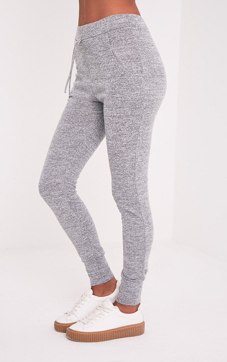 Haree Grey Casual Tracksuit Bottoms 4