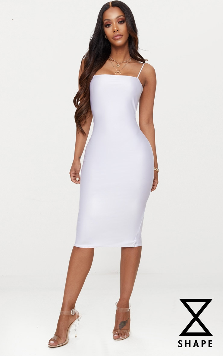 Shape White Slinky Extreme Cut Out Bodysuit Pretty Little Thing Release Dates Online New Sale Online Nd2rIV