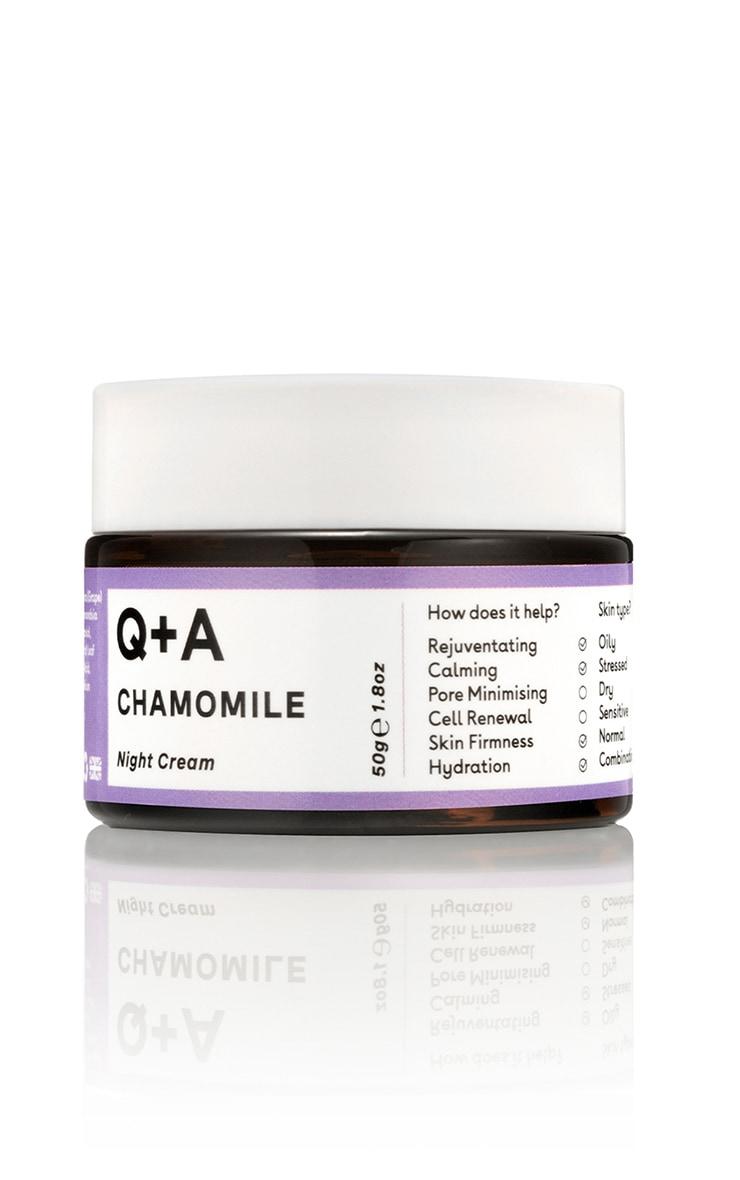Q+A Chamomile Night Cream 5