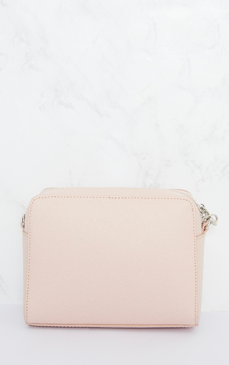 Nude Jewel Detail Shoulder Bag 4