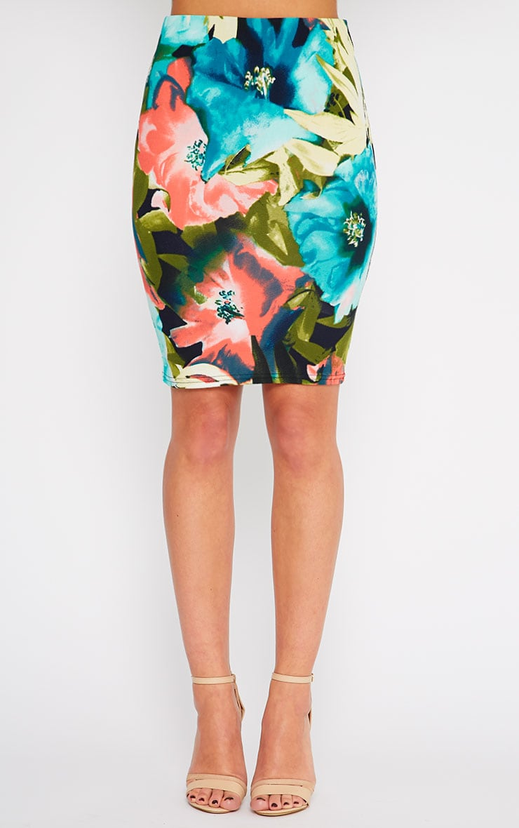 Pelli Floral Skirt 2