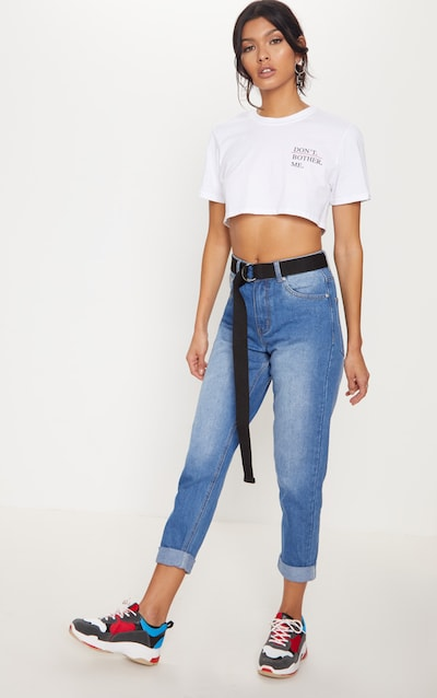 ccb36f62d Mid Wash Mom Jeans