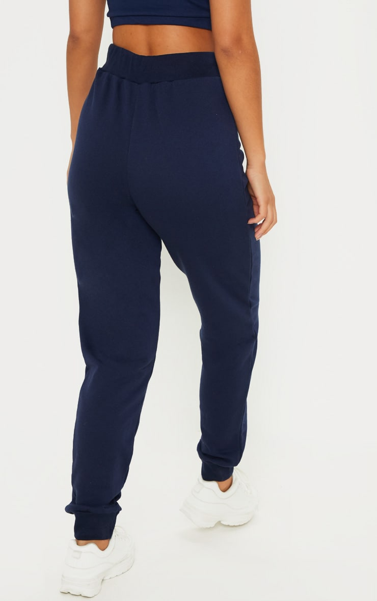 Navy Ultimate Marl Sweat Joggers  4