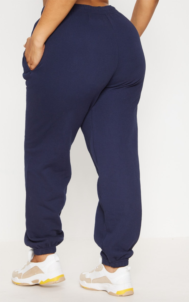 Plus Navy Casual Jogger 4