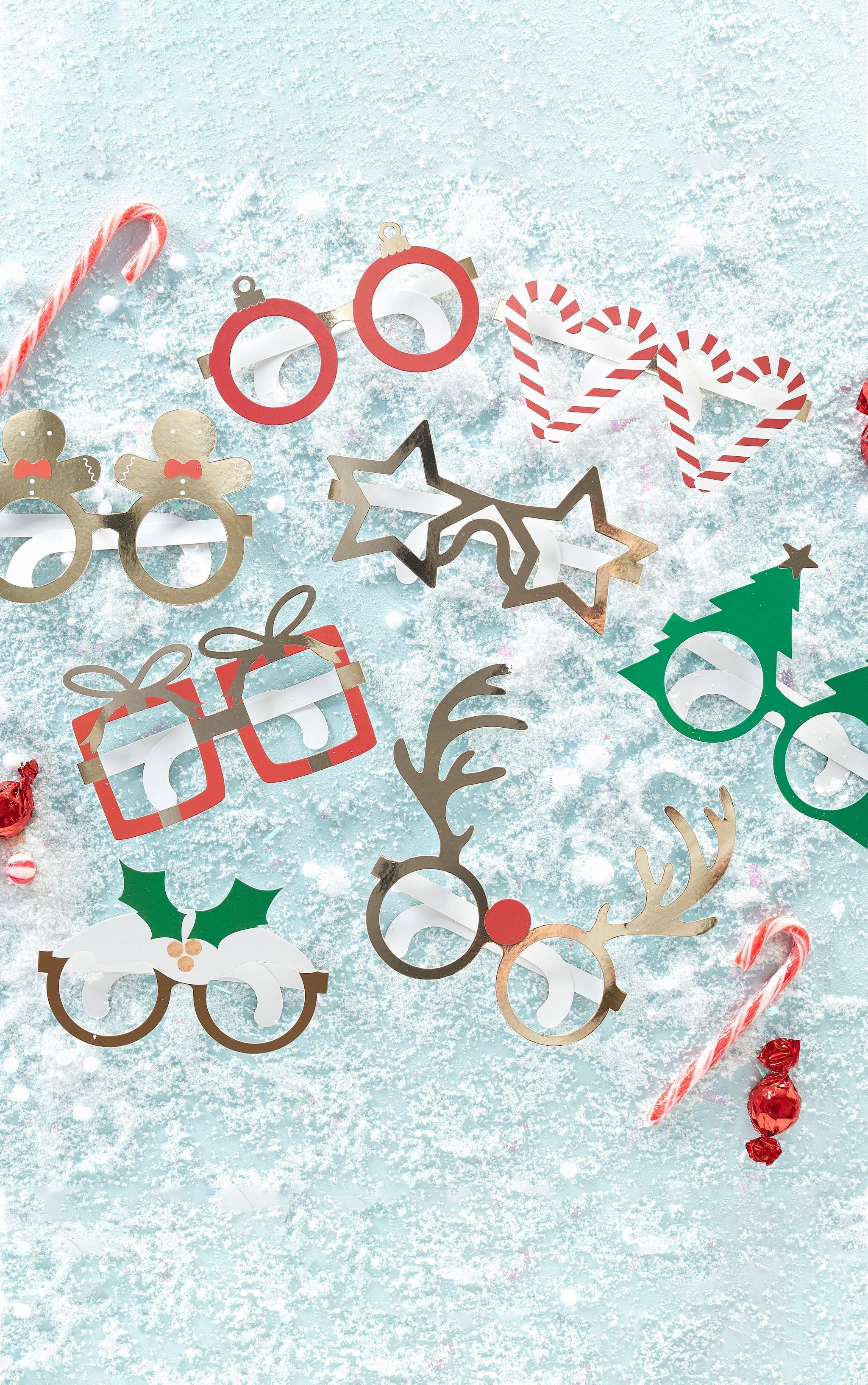 Ginger Ray Novelty Fun Glasses  1