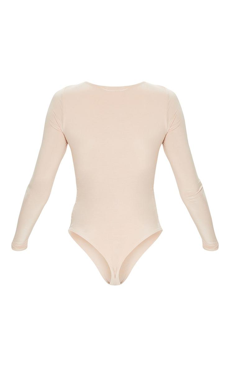 Amiee Slinky Stone Longsleeve Thong Bodysuit 6