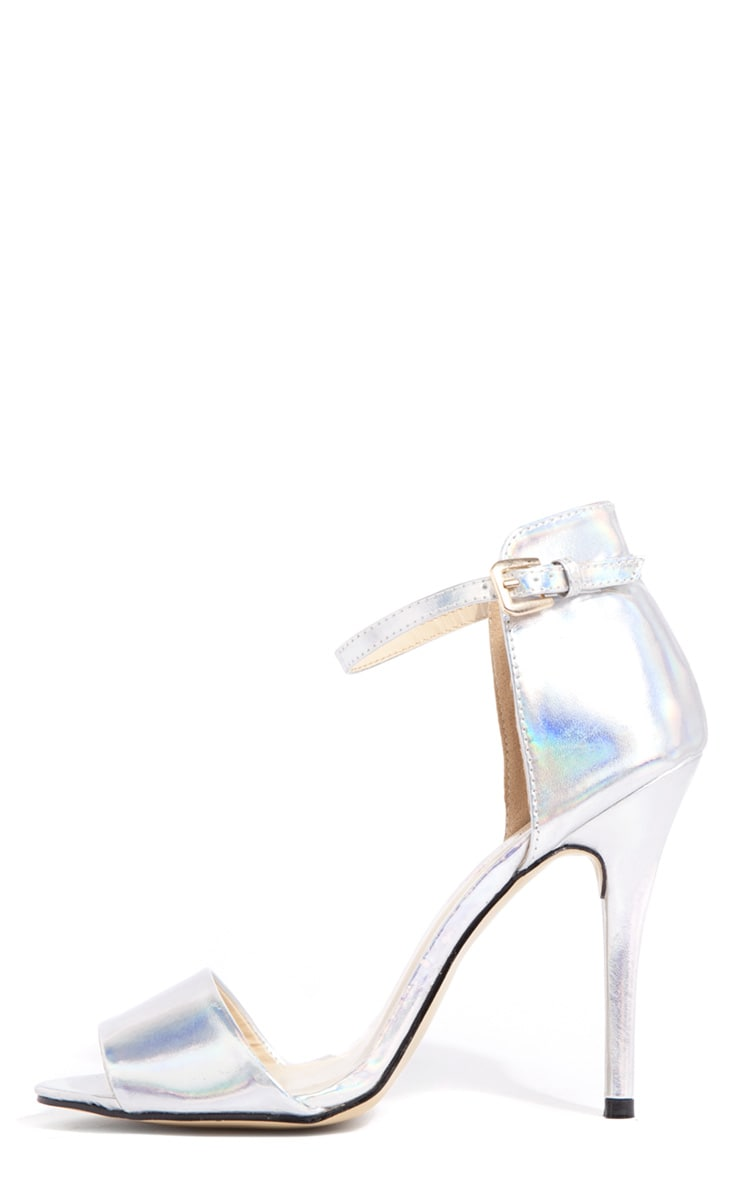 Luna Hologram Stiletto Sandals 1