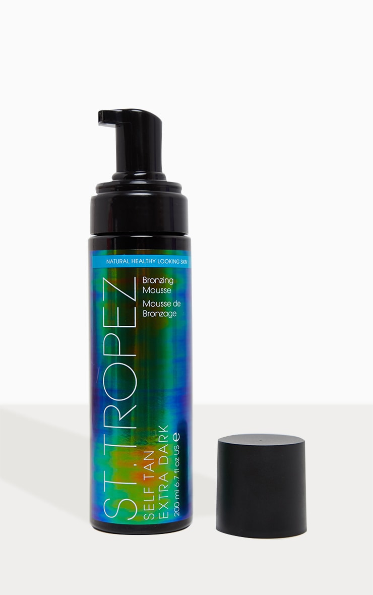 St. Tropez Self Tan Extra Dark Bronzing Mousse 200ml 2