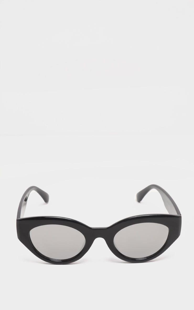 Black Cat Eye Revo Lens Sunglasses 2
