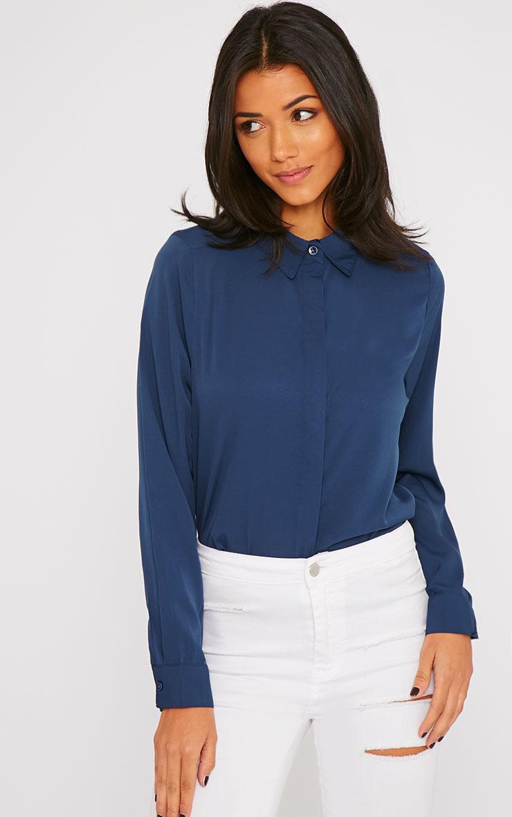 Rhonda Navy Shirt 4