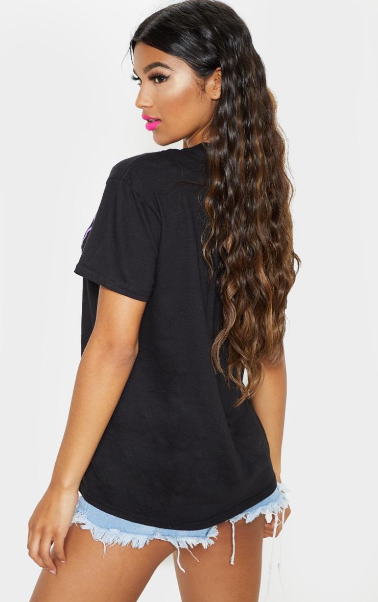 UNISEX Black PROUD Oversized T-shirt 3