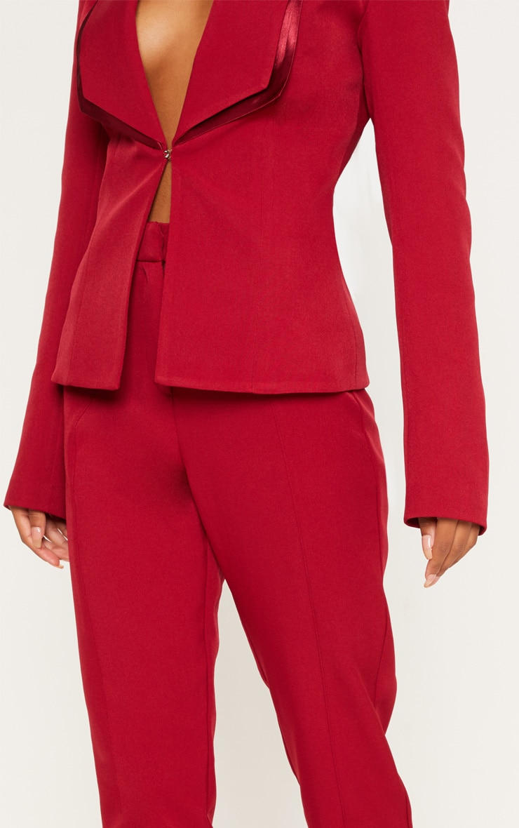 Red Suit Trousers 5