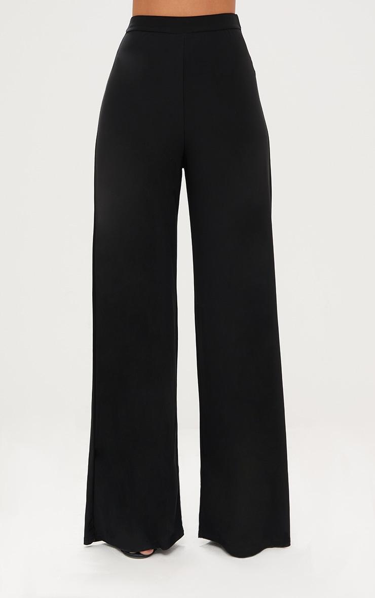 Jill Black Slinky Palazzo Trousers 2