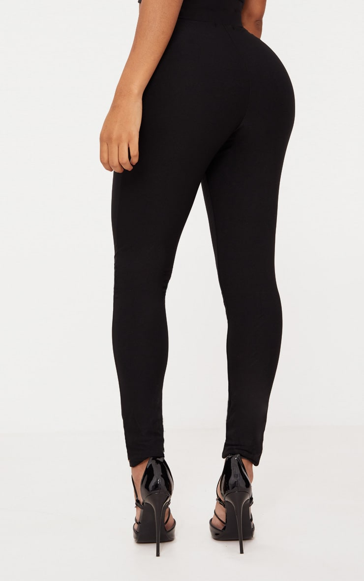 Shape Black Slinky Leggings 4