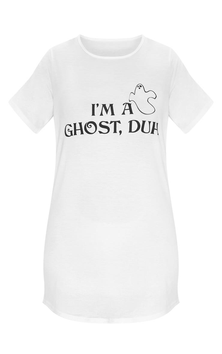 I'm A Ghost, Duh Halloween White Nightie 3