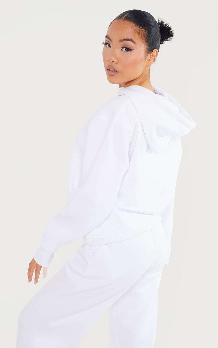 Petite White Ultimate Oversized Hoodie 2