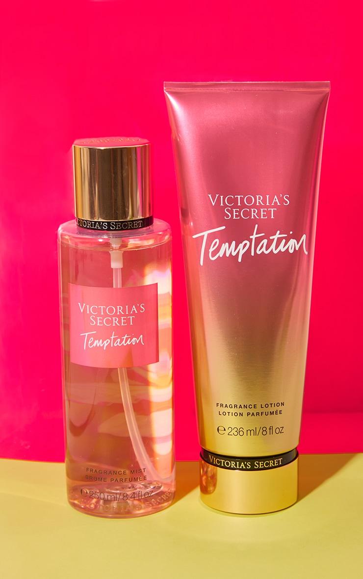Victoria's Secret Temptation Fragrance lotion & Body Mist Bundle 1