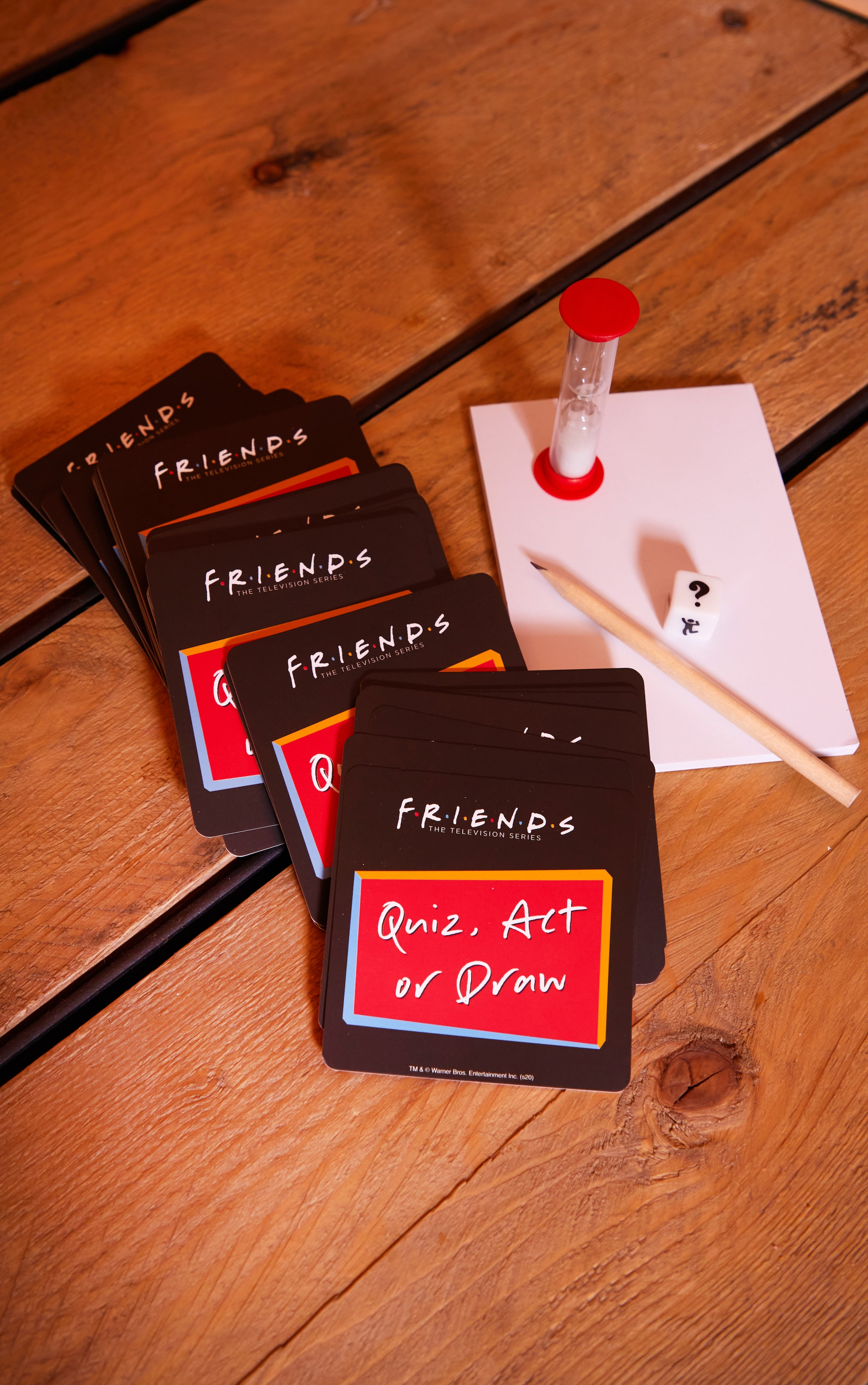 Friends Quiz Act or Know Trivia Game 1