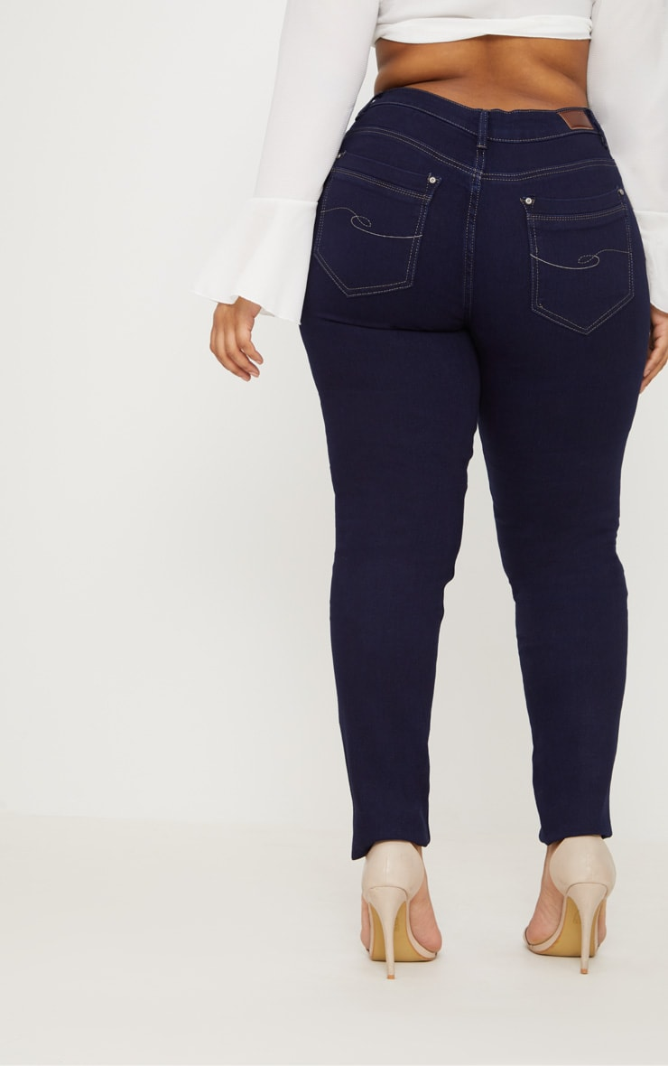 Plus Indigo Skinny Jeans 4