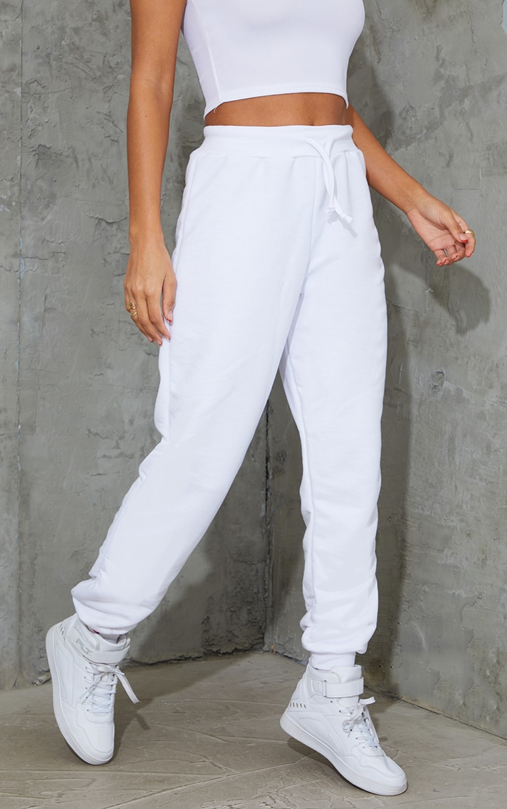 White Ultimate Track Pants 2