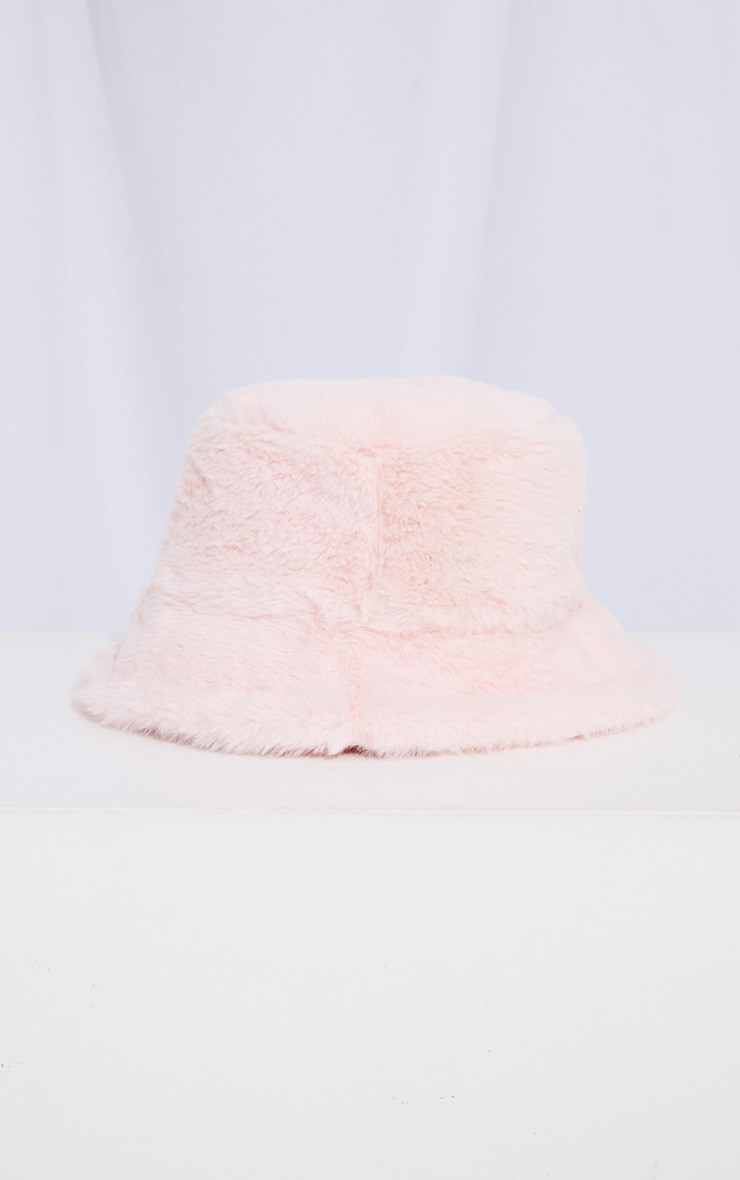 PRETTYLITTLETHING Pink Satin Reversible Bucket Hat 3
