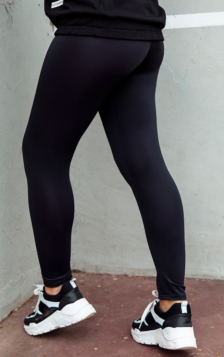 Black Basic Gym Legging 4