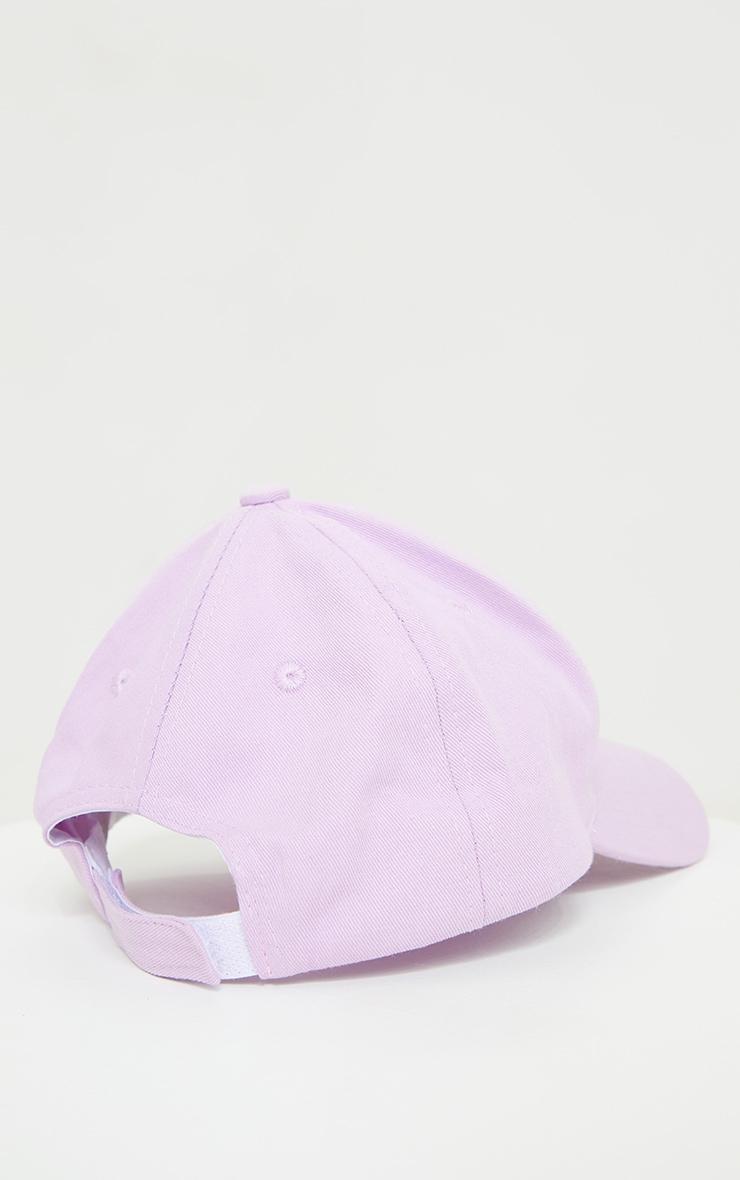 Lilac Baseball Cap 3