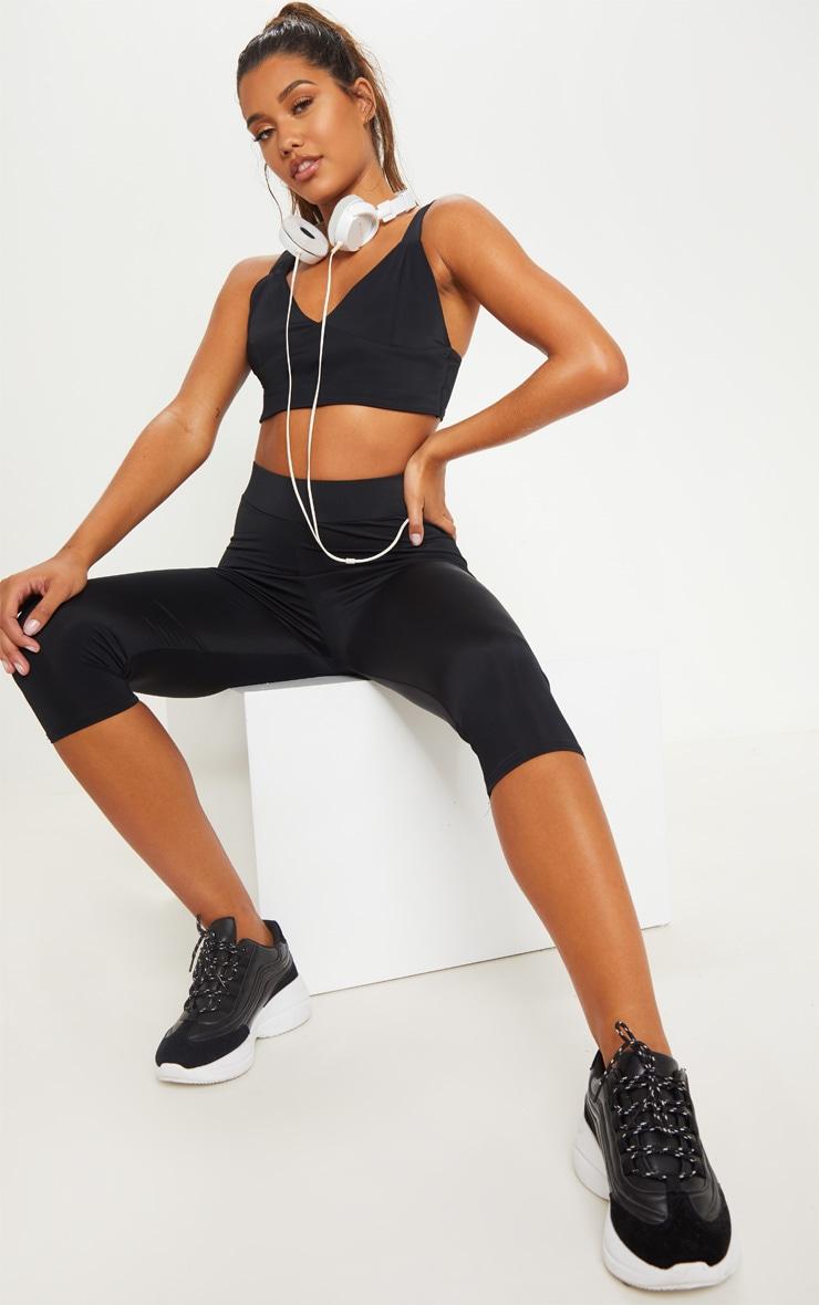 Black Basic Gym Bralet 4