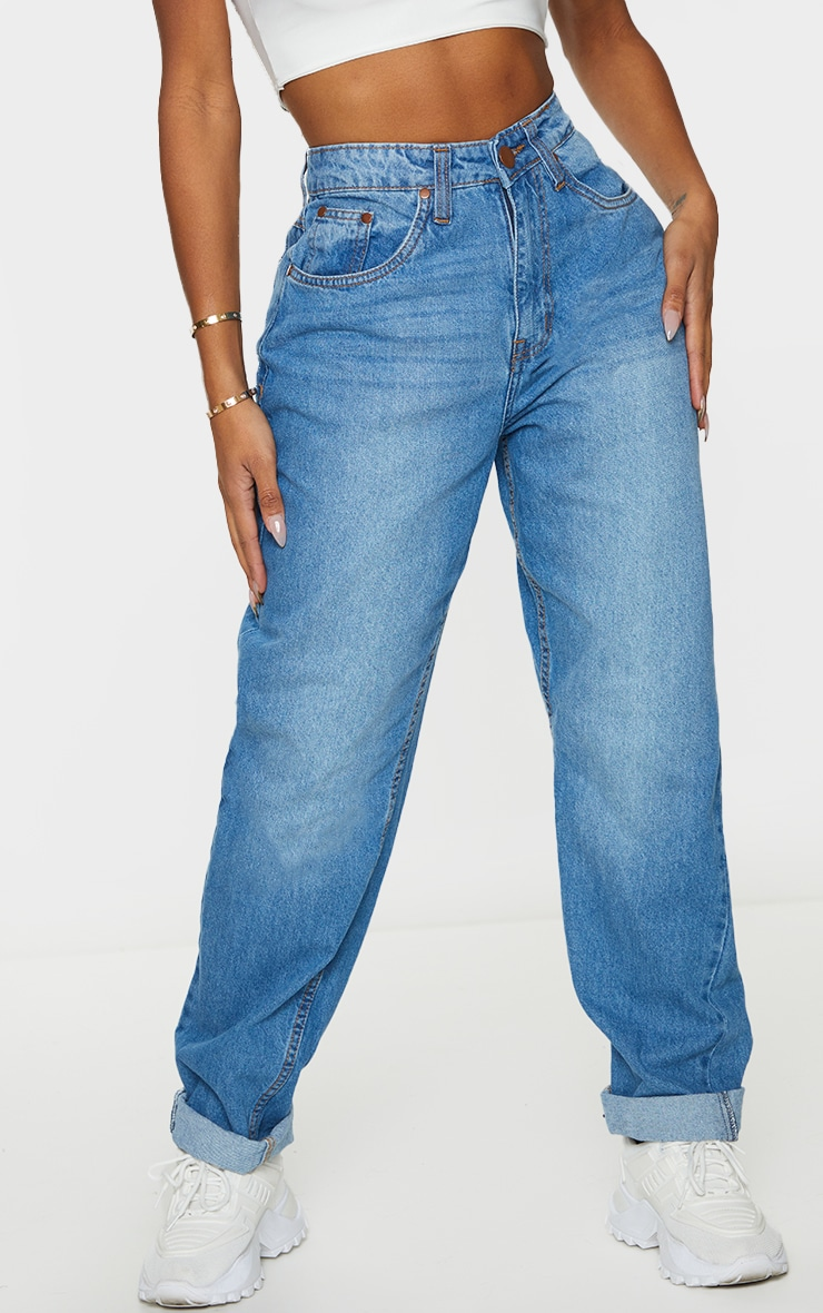 Shape Mid Wash Mom Jeans 2
