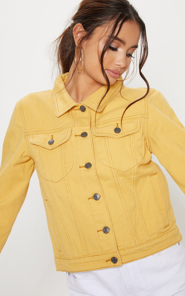 Denim Yellow Jacket 5