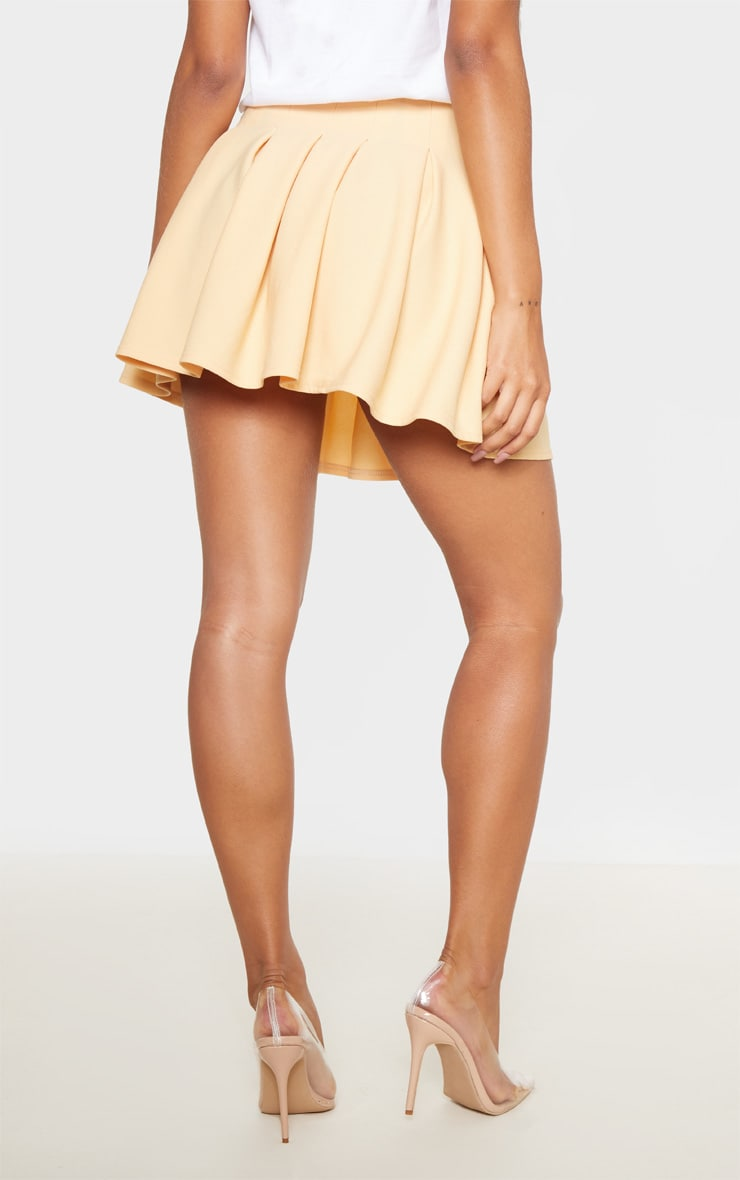 Fawn Pleated Side Split Tennis Skirt 4